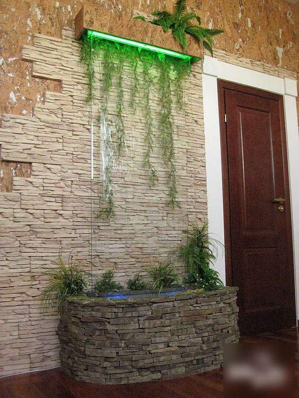 Водопад дома своими руками фото